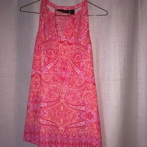 Cynthia Rowley patterned tank size S